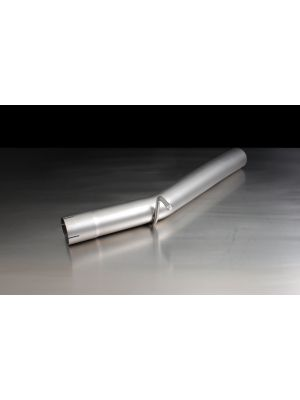 Racing tube instead of front silencer (without homologation)