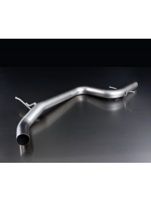VW Golf VI Racing Tube Front Silencer Exhaust Upgrade