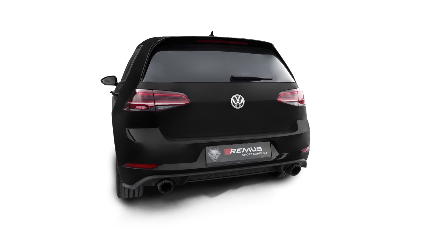 remus news remus product information 10 2017 vw golf vii gti facelift. Black Bedroom Furniture Sets. Home Design Ideas